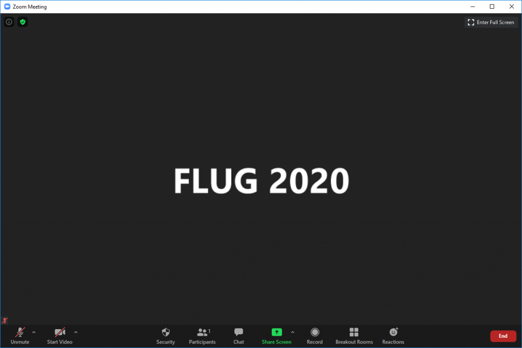 FLUG Virtual meeting how-to